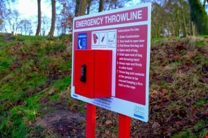 New safety equipment has been installed at Hesketh Park in Southport